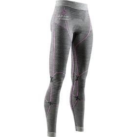 X-Bionic Apani 4.0 Pantalones Merino Mujer, black/grey/magnolia
